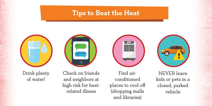 FEMA graphic: Tips to Beat the Heat