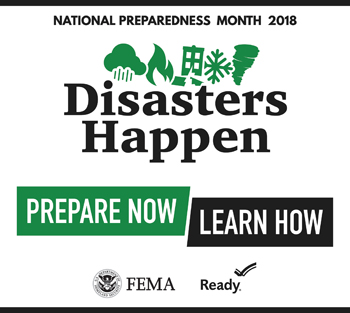 National Preparedness Month (FEMA graphic)