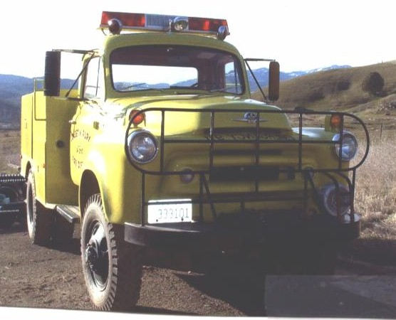 Our 1956 International, sold in 2003 - front view