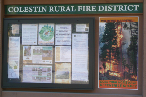 Fire Season 2016 poster: Wildfire Happens. Does Your Home Have Defensible Space?